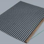 Nivelator simplu PVC SPECIAL pe suport din lemn
