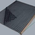 Nivelator dublu PVC SPECIAL pe suport din lemn