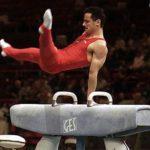Cal pentru gimnastica