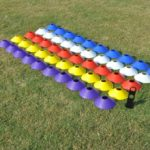 Conuri marcaj antrenament atletism (set 50)