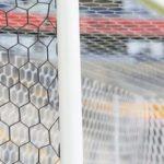 Plasa poarta fotbal 7,5 x 2,5m, fir 3,5mm, ochiuri hexagonale