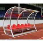 Banca rezerva pentru jucatori fotbal 3m