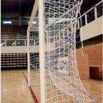 Poarta fotbal aluminiu 5x2m, aluminiu 80mm, transportabila