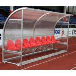 Banca rezerva pentru jucatori fotbal 4m