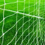 Plasa poarta fotbal 3x2m, fir 2mm, alb/negru/verde