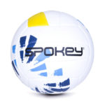 Minge de Volei Spokey Beach Fun realizata din material sintetic de calitate, cusuta manual, cu spuma de 1,5 mm grosime,