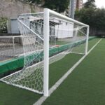 Poarta fotbal 5x2m, aluminiu 100x120mm, transportabila
