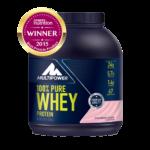 100% Proteina Pura Whey - 2000g - Capsuni